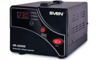 SVEN выпустила стабилизаторы напряжения VR-A2000 и VR-A1000