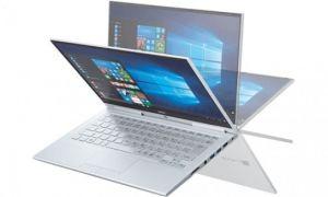 Ноутбук NEC LaVie Hybrid Zero весит 769 г